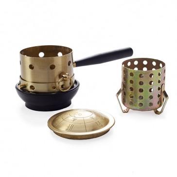 Brass Moxa Burner