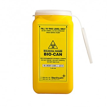Sharps Container 1.4 Lt
