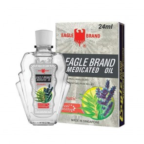 Eagle Brand (Aromatic - Eucalyptus & Lavender) Medicated Oil