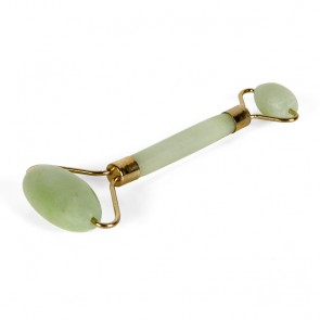 Dual-Head Jade Cosmetic Dermal Roller
