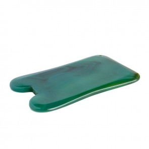 rectangle gua sha agate