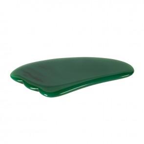 Gua sha - Green Agate